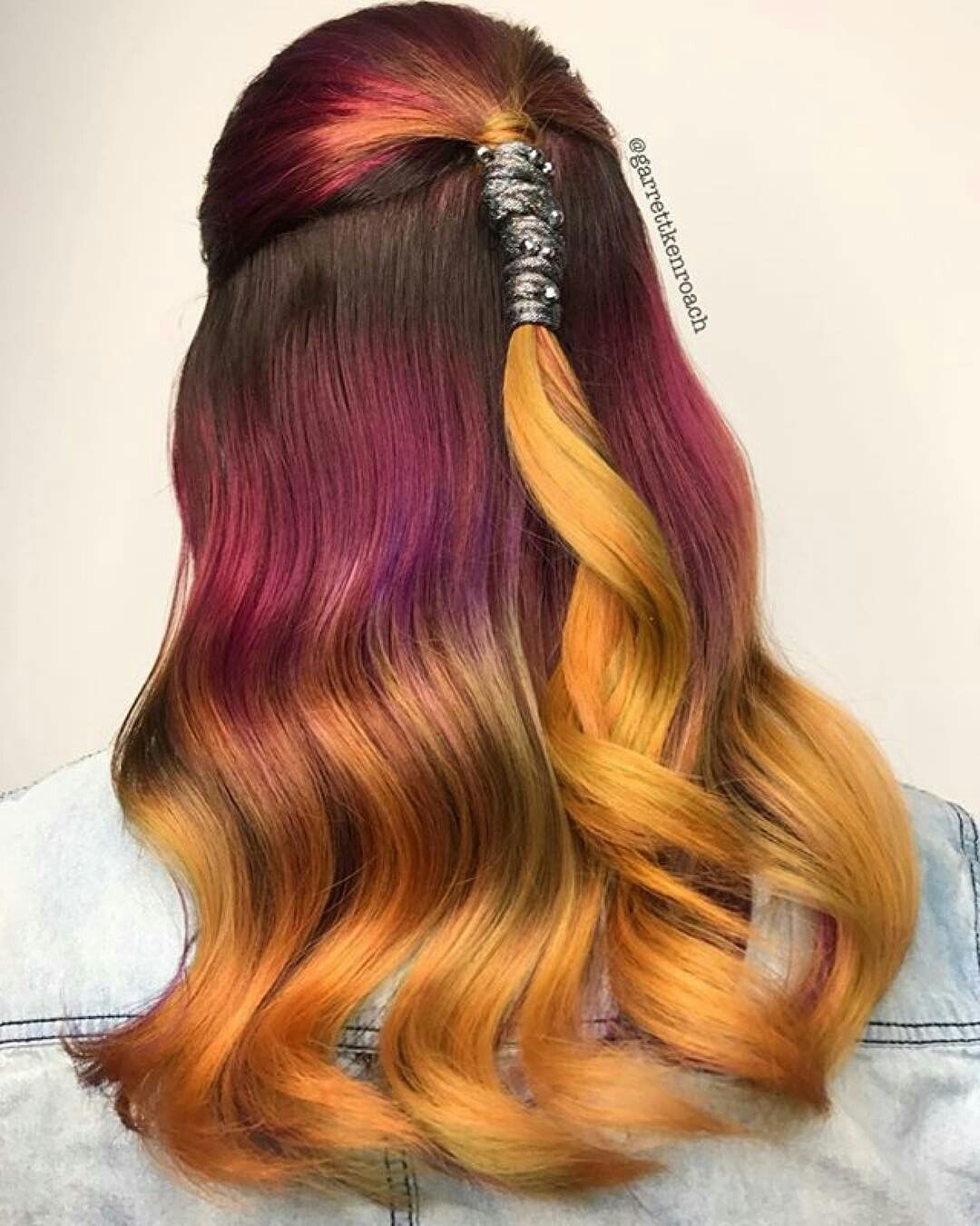 Pin By Kaylee Job On Hair Pinterest Hair Hair Styles And Dyed Hair