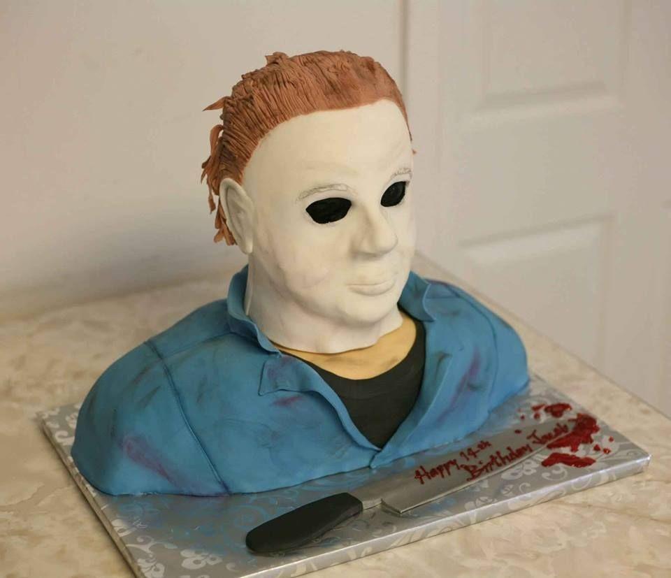 Michael Myers Michael Myers Halloween Scary Cakes Halloween Birthday Cakes