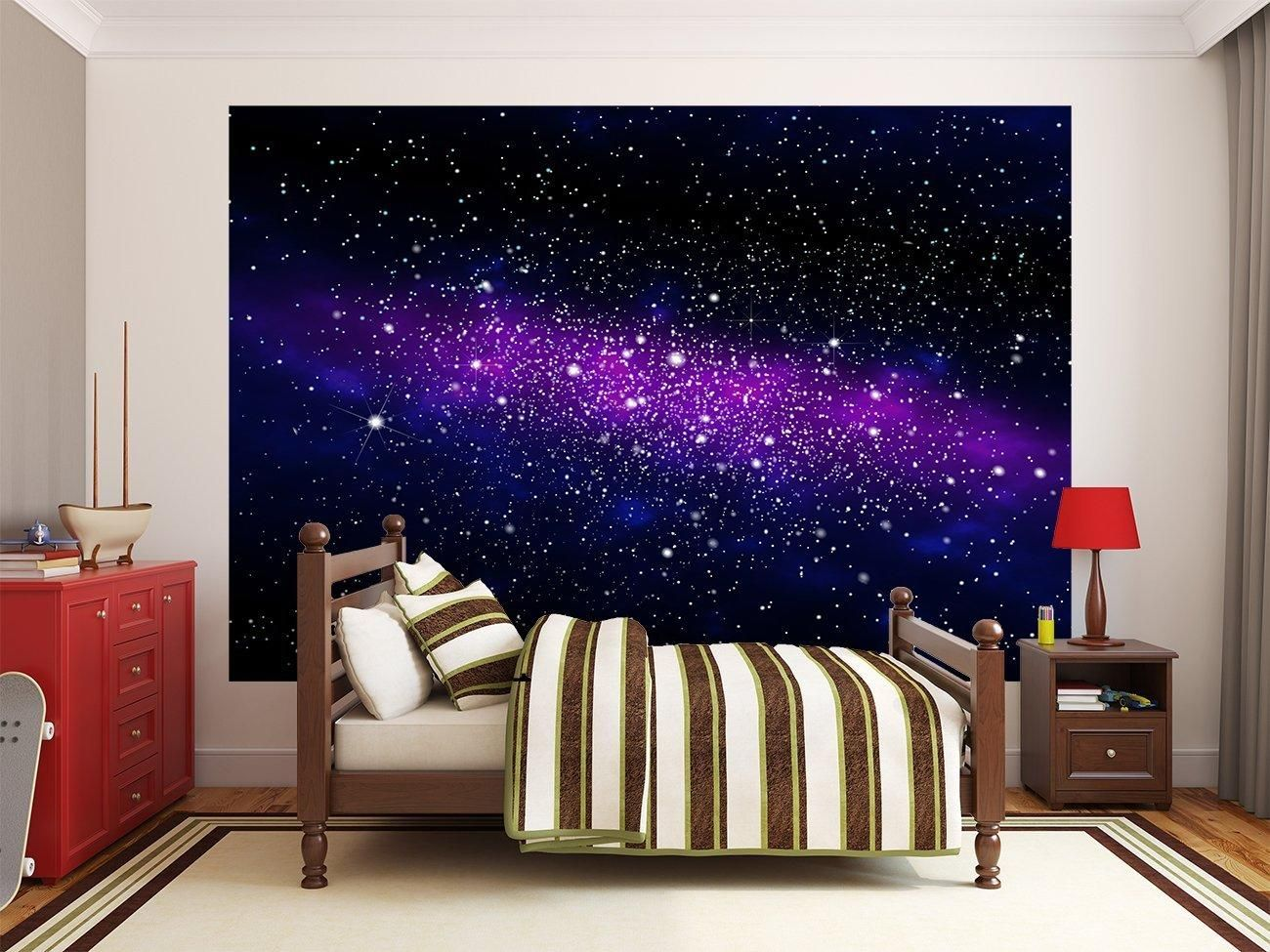 fototapete im weltall galaxie sternenhimmel fototapeten 3d vliestapeten 3d pinterest. Black Bedroom Furniture Sets. Home Design Ideas