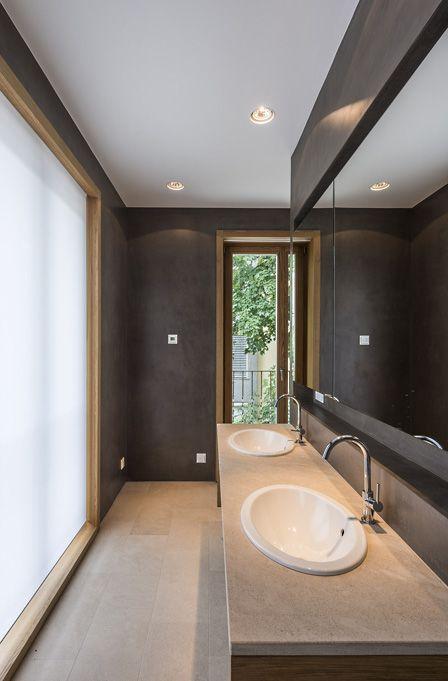 Terra di Pietra mit Steinöl poliert Bad Pinterest - badezimmer 10 qm