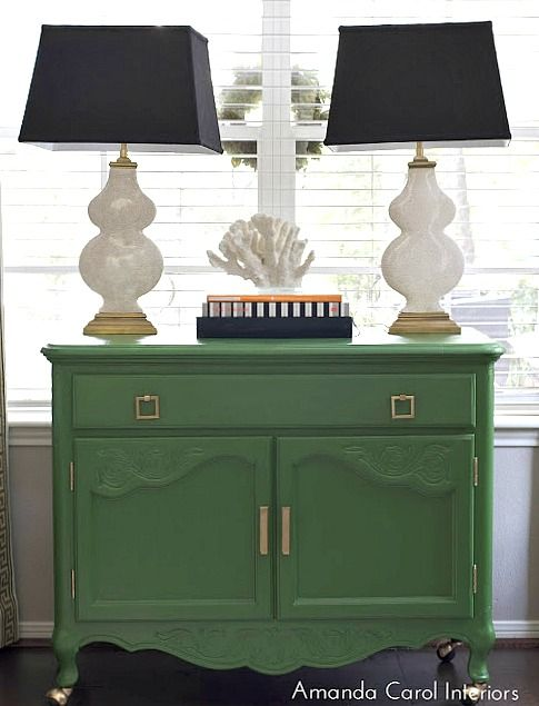 Chest Painted In Pine Scent From Behr 16 Of The Most Versatile Paint Colors For Painting Furniture