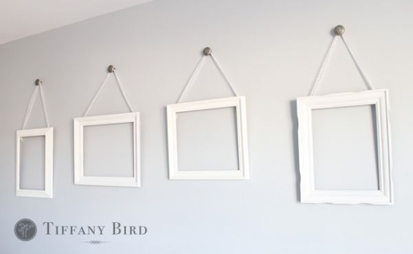 Learn How To Reuse Frames Hang On The Wall With Ribbons These Ribbon Hanging Are Simple Do For This Tutorial And More Visit Simply