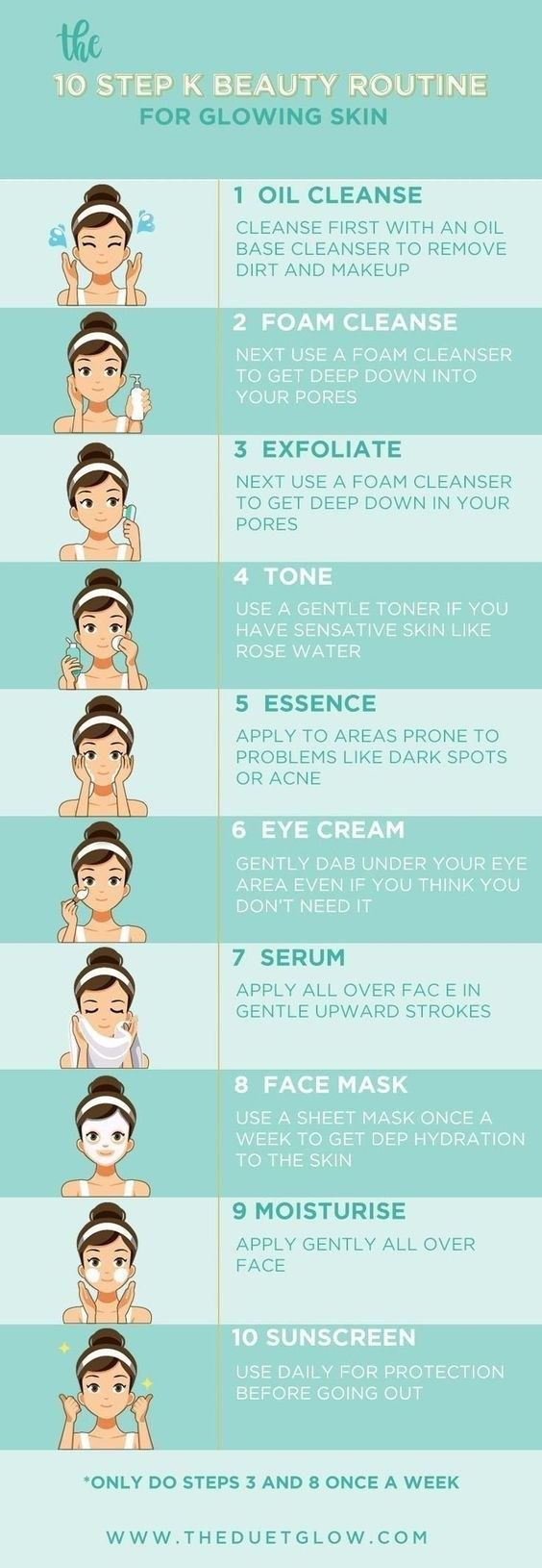 16 Skincare Cheat Sheets That Are Actually Useful #skincareroutine
