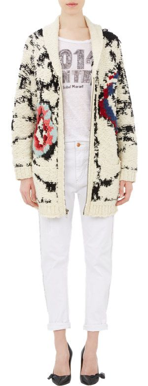 Isabel Marant Étoile Serra Shawl Cardigan at Barneys.com