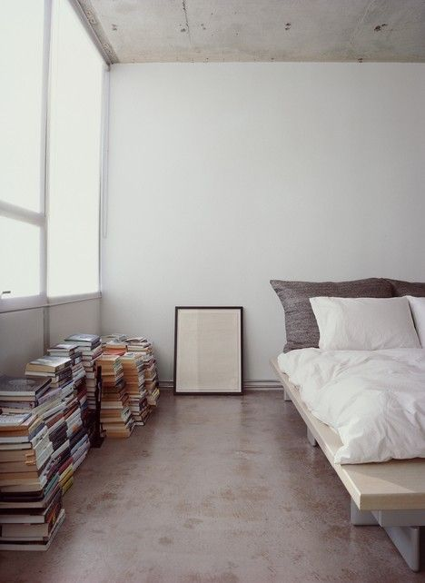 pavimento - Bedroom concrete