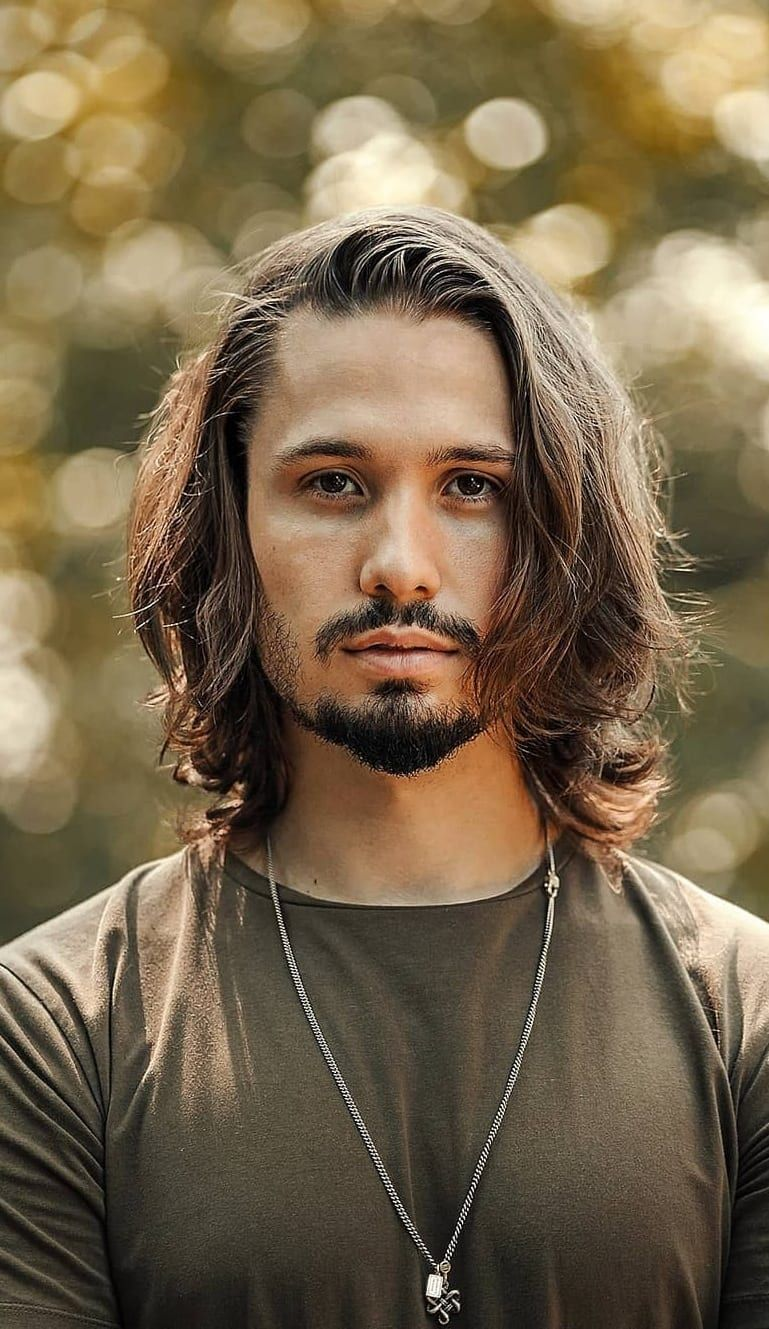 21 Sexiest Long Hairstyles for Men to rock in 2020 in 2020 | Boys long hairstyles, Long hair ...