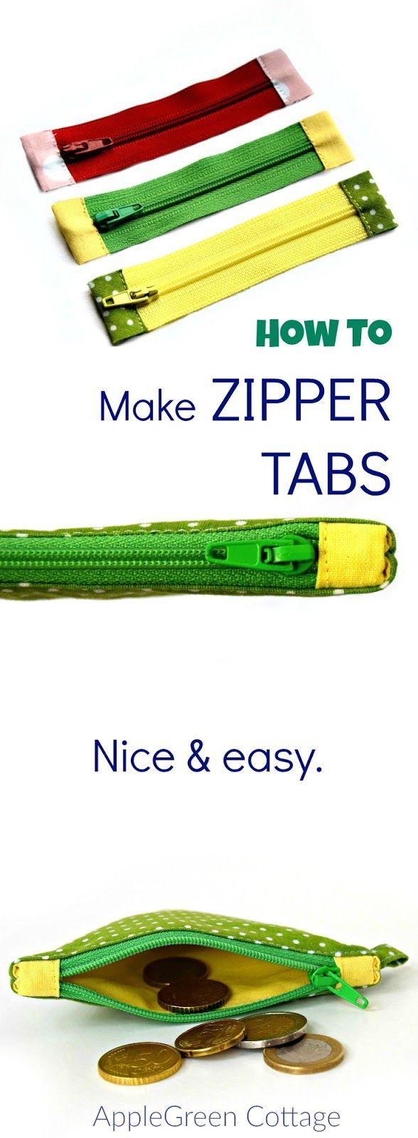 how to shorten zippers and make zipper tabs sy s mnad och v skor. Black Bedroom Furniture Sets. Home Design Ideas