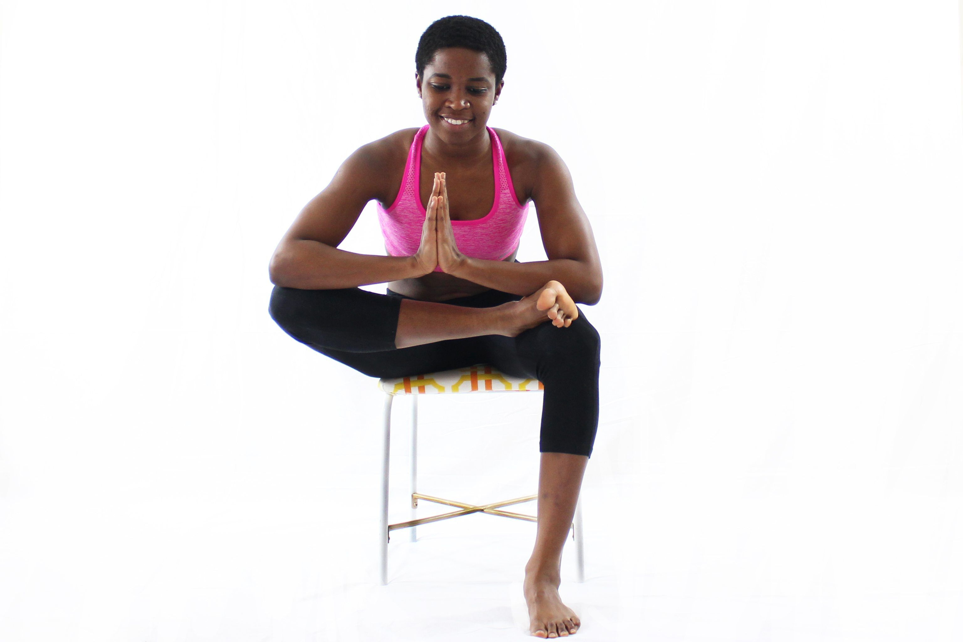 10Minute Chair Yoga Routine For Stress Relief (With