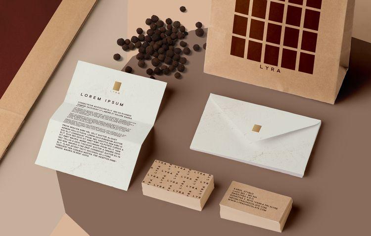 Lyra Bean-to-Bar Chocolate — The Dieline - Branding & Packaging