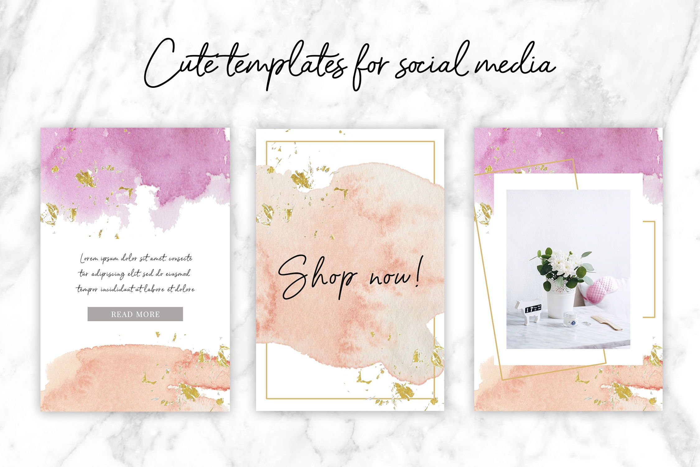 Beautiful Watercolor Backgrounds Watercolor Textures In Peach