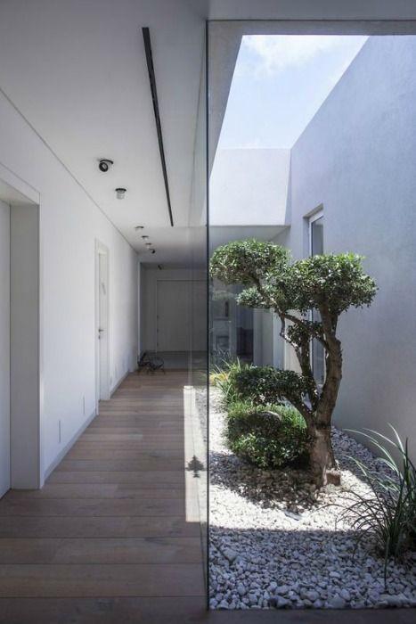 Patios interiores Luz natural, La vivienda y Topes