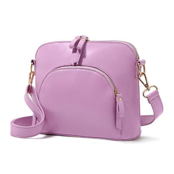Women Vintage Shell Cute Candy Color Shoulder Bags Crossbody Bags