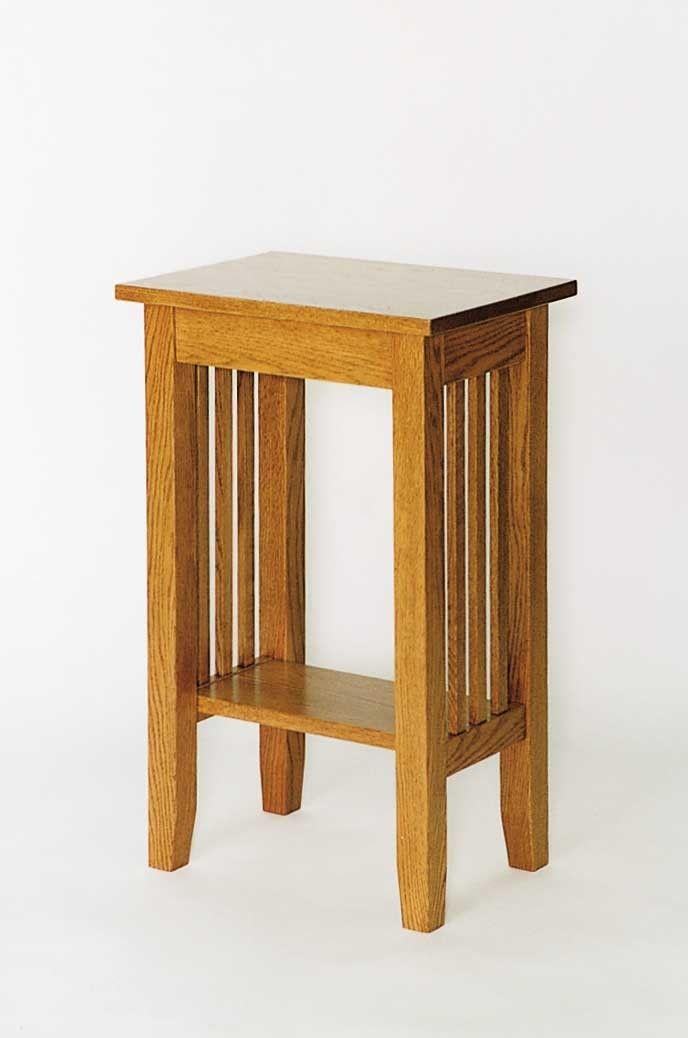 Amish Living Room Craftsman Mission Mini End Table