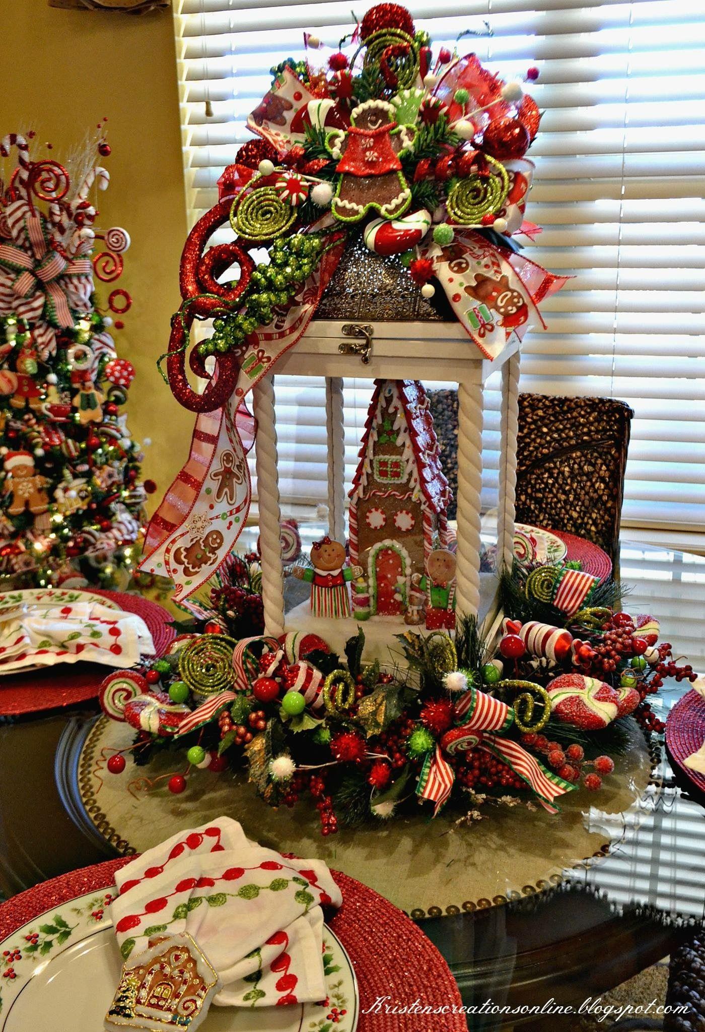 Pin de twigsntoledecor en christmas pinterest navidad - Adornos de mesa navidenos ...
