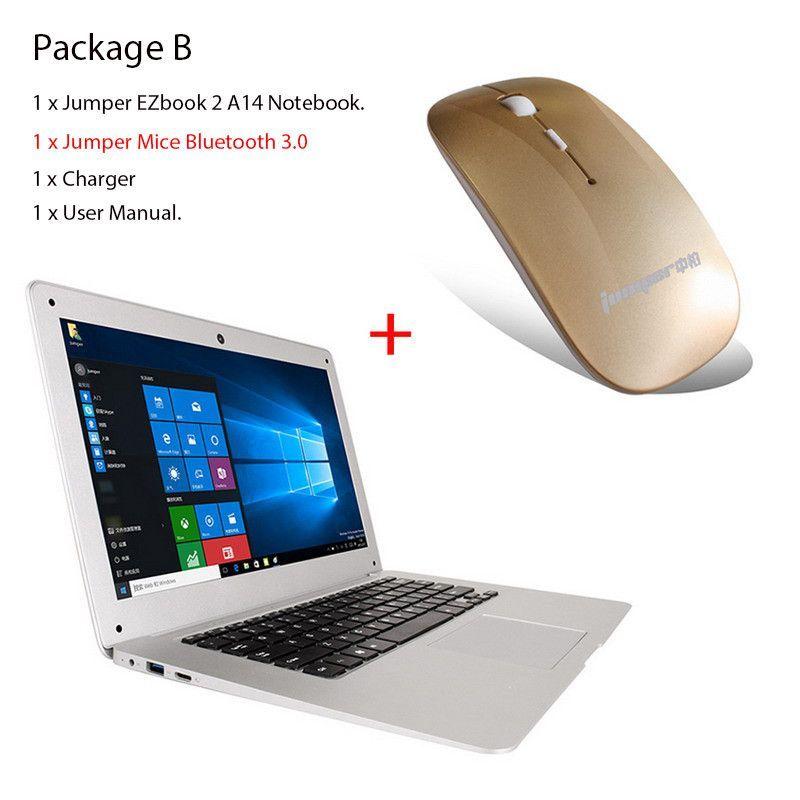 Jumper EZbook 2 A14 notebook 141 Inch Intel Cherry Trail Z8300 Quad