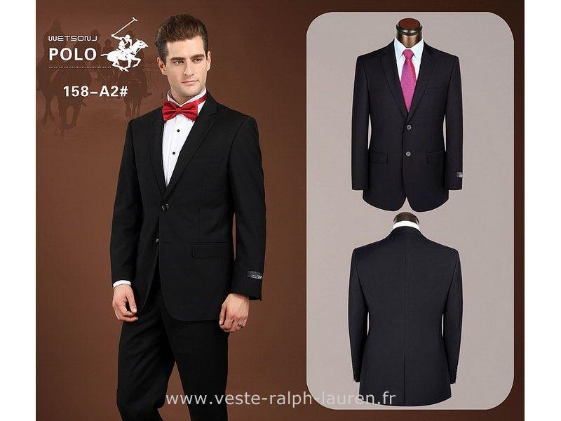 cc86605c7f1 Polo officiel - Costumes Homme Ralph Lauren 2015 coton edition limitee mode pas  cher 3312 noir Polo Manche Longue Homme