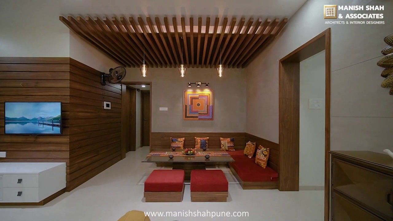 2 Bhk Flat Luxurious Interior Design Nandan Prospera B