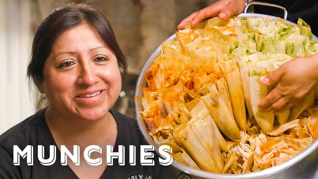 The Dollar Tamale Queen Of New York Street Food Icons Youtube Street Food Food Chinese Cooking Recipes