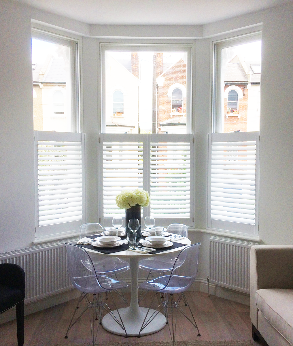 Explore our gallery Interior shutters, Bay window