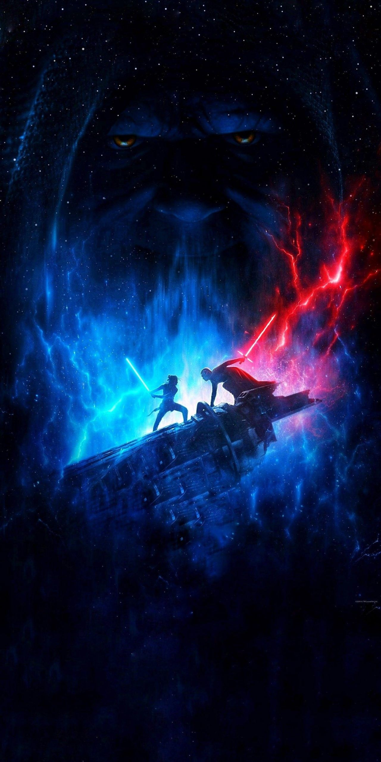 Star Wars The Rise Of Skywalker By Lucasfilm Wallpaper Edit By