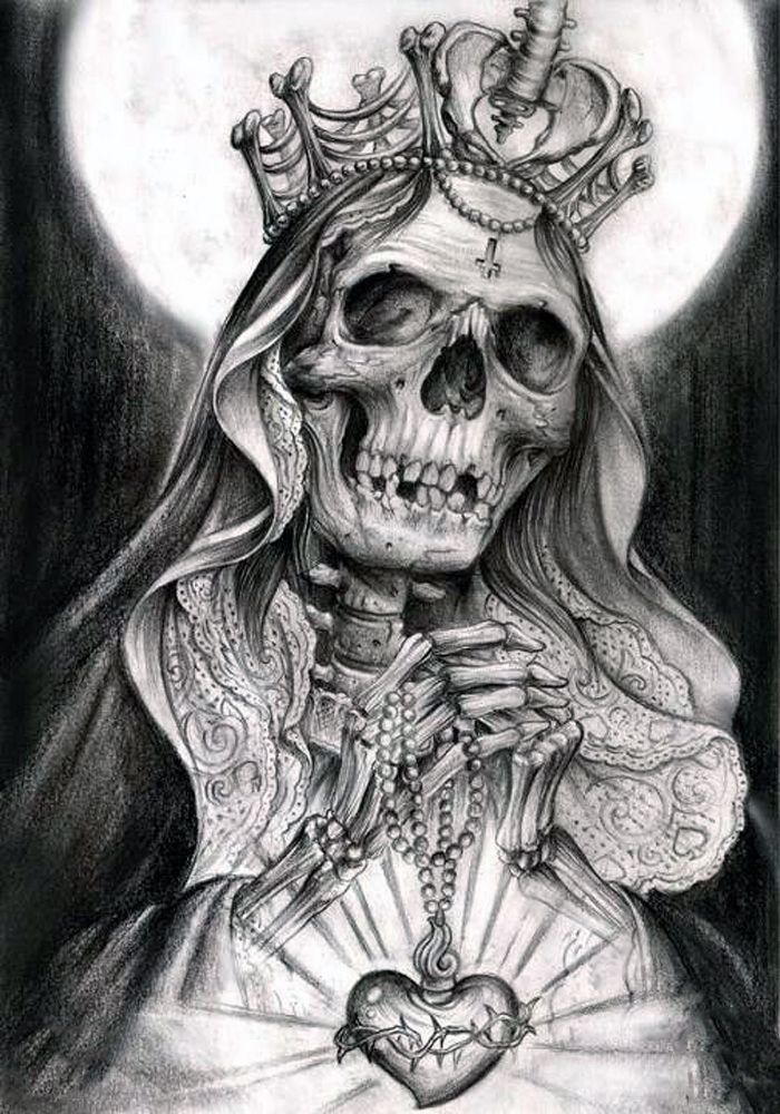 Resultado De Imagem Para Santa Muerte Catrinas Santa Muerte