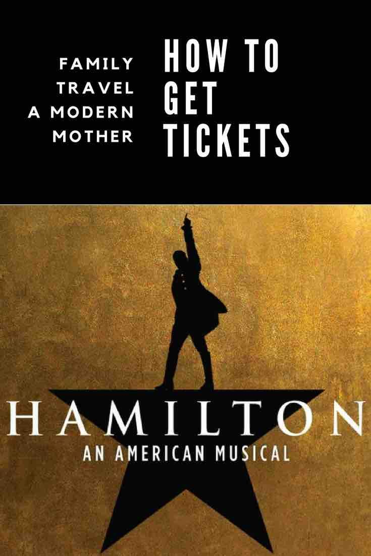 How to get Hamilton tickets #HamiltonLDN - A Modern Mother