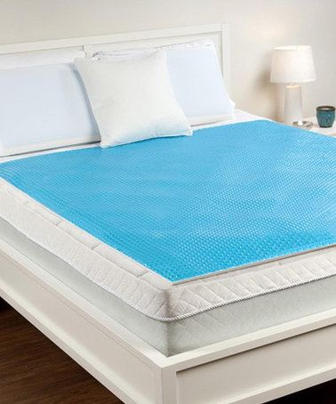 Hydraluxe Cooling Gel Mattress Pad Topper Zulily Cooling