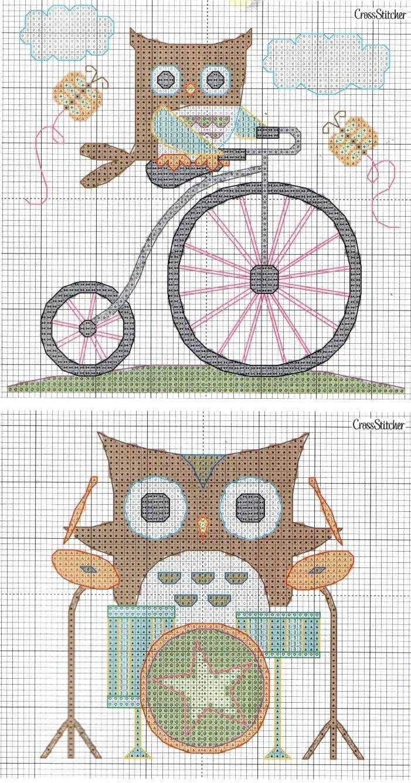 Pin von Tonia Williams auf Owl Fancy   Pinterest   Stickerei und Eule