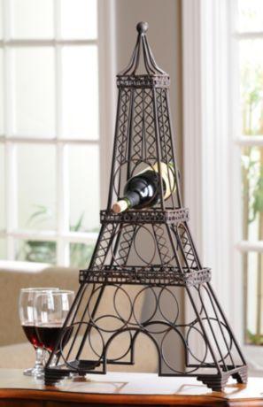 Eiffel Tower Wine Rack Help Her Down And Enjoy Day Kirklands Celebratingmom Winerack