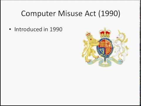 Computer Misuse Act Gcse ict, Acting, Computer