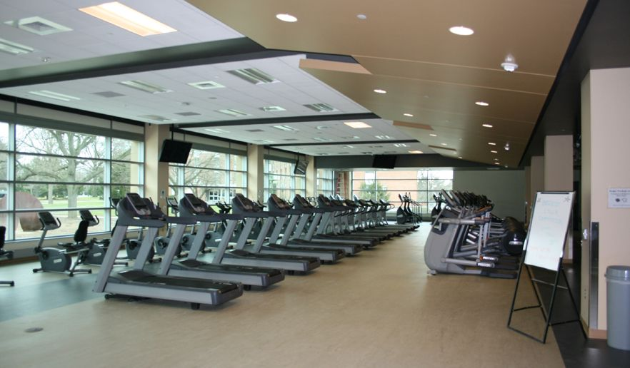 Student Services Inc Fitness Center At Millersville University Gym Flooring Gym Fitness Business