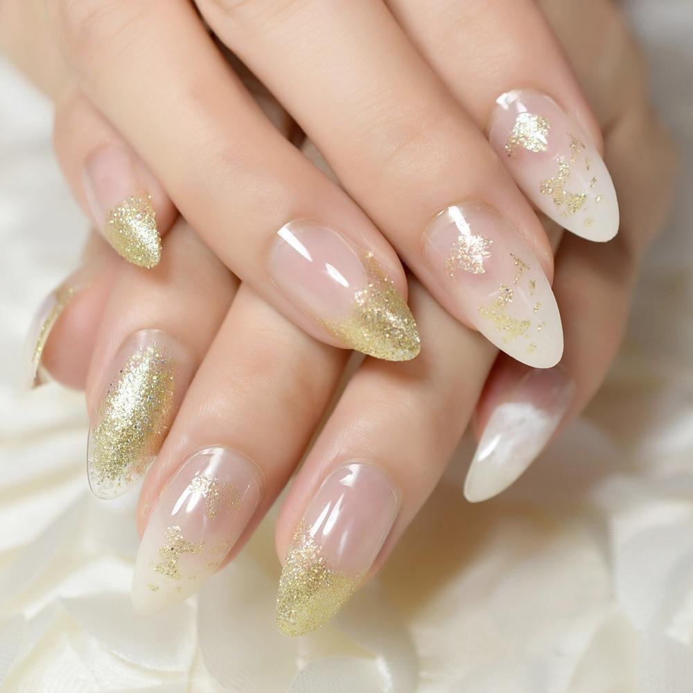 Ballerina Gel Nail Designs