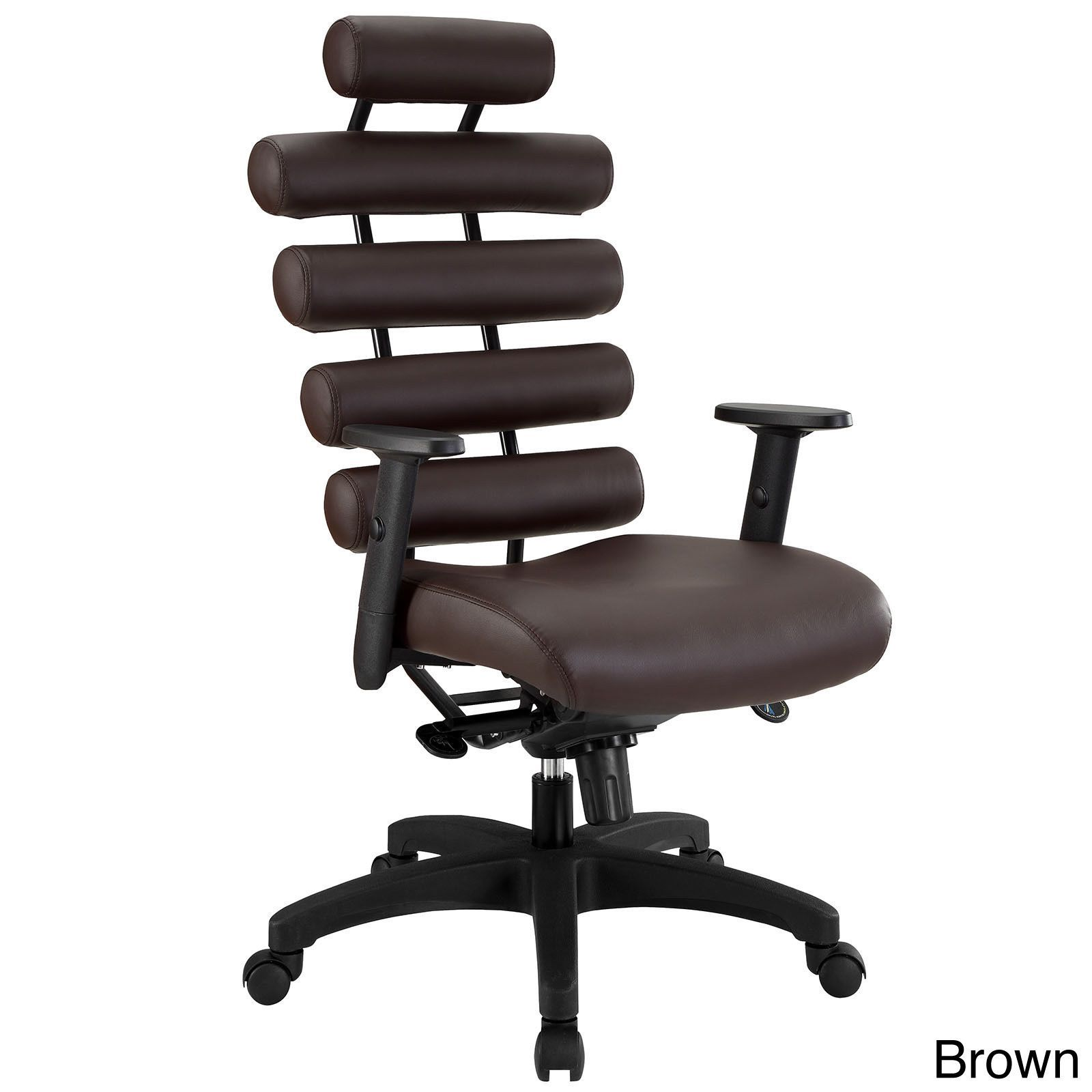 Modway black pillow office chair black black pillows pillows