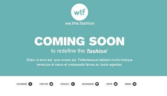 coming soon page template we the fashion lvly related pinterest