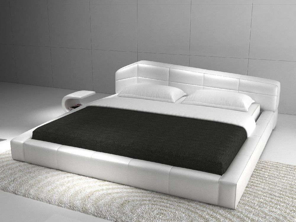 Best Check Out The Deal On Modern White Platform Bed At Eco 640 x 480