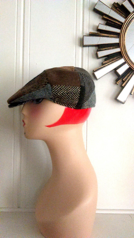 4ecacc25 Men's Vintage Donegal Irish Wool Tweed Hanna Hats / Patchwork Newsboy Cap /  Made in Ireland / Men's L / Vintage Accessories by JulesCristenVintage on  Etsy