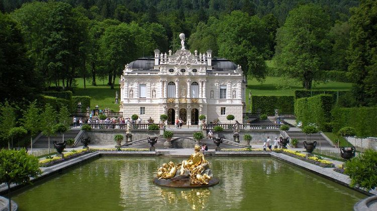 Visit Schloss Linderhof Opening Hours Transportation Linderhof Palace House Styles Palace