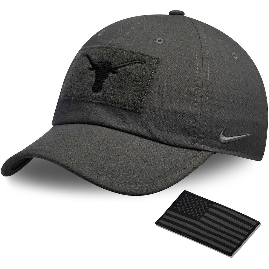 2d7c39e37f5 ... czech texas longhorns nike tactical heritage 86 performance adjustable  hat anthracite. find this pin and