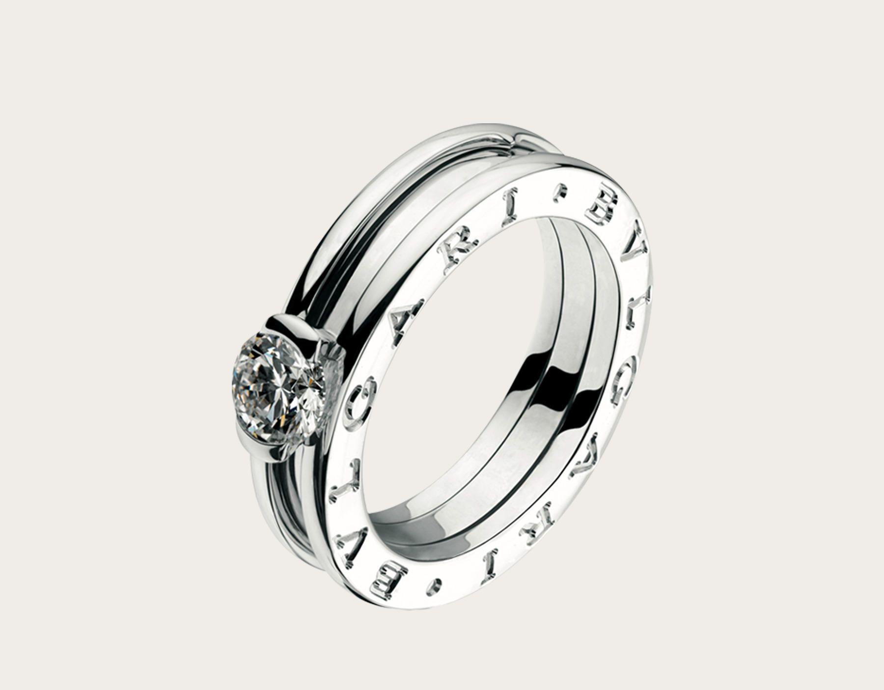 bague solitaire diamant bulgari