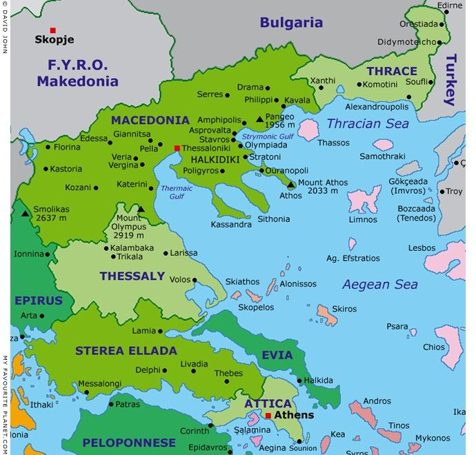 Greek Macedonia map Pinterest Macedonia