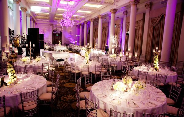 Inspired By The Colorwash Uplight Lighting Decor At This Venue Great Photo Via Corinthia