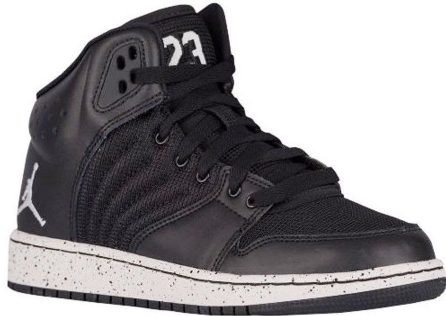 best service c0b1d 3fd6c NIKE JORDAN 1 FLIGHT 4 PREM PREMIUM BG Womens 8.5 (7Y) Black 828237 020 NEW   NikeJordan  Athletic
