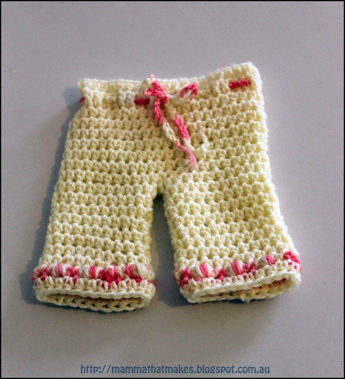 Mamma Eso hace: Pantalones de Bo - Patrón gratuito Prem ganchillo ...