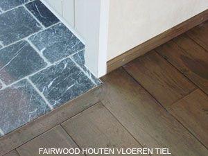 Overgang hout naar tegels vloeren beneden pinterest plavuizen vloeren en tegels - Meubels keuken beneden cm ...