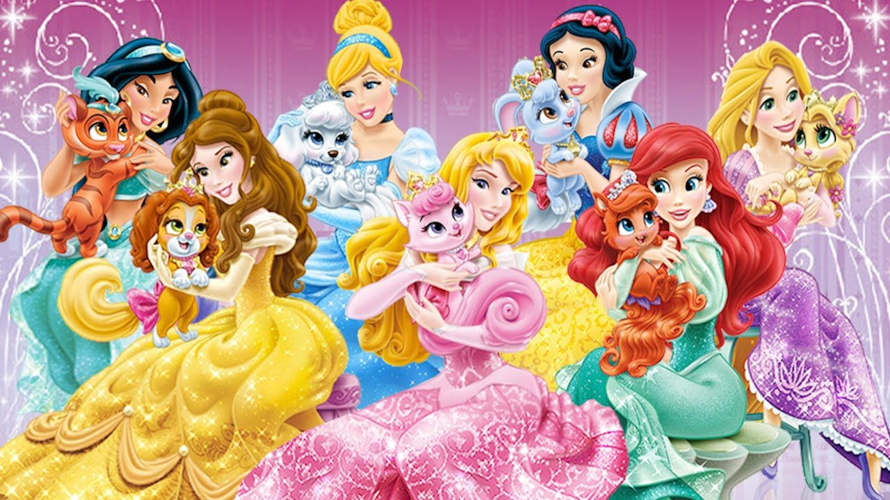 Disney Princesas Palace Pets Ipad Iphone Android Games