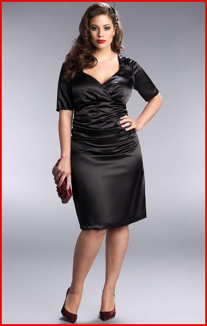 85f1711dee7c3 cutethickgirls.com plus size black dress (13) #plussizedresses ...