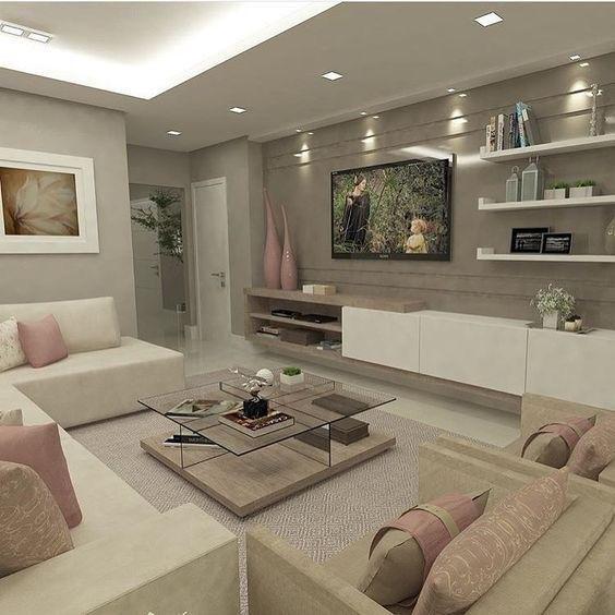 100+ Cozy Living Room Ideas for Small Apartment | Ideas ...