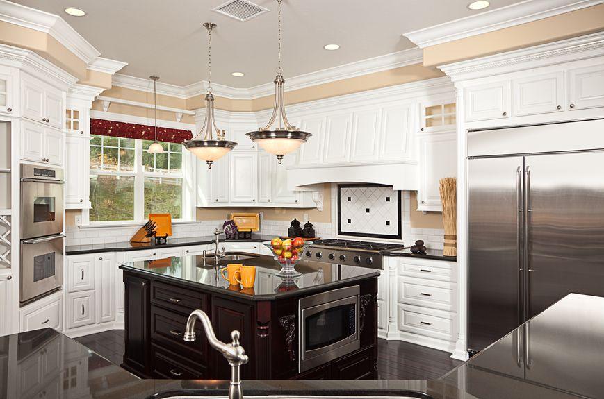 36 beautiful white luxury kitchen designs pictures - Luxury White Kitchens