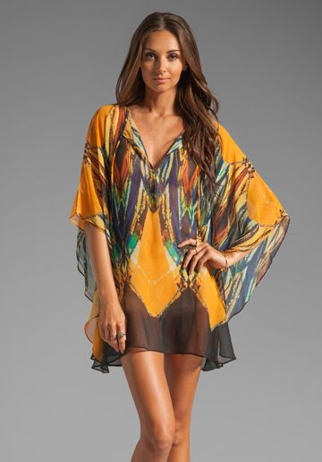 VIX SWIMWEAR Tribal Caftan in Print at Revolve Clothing - Free Shipping!