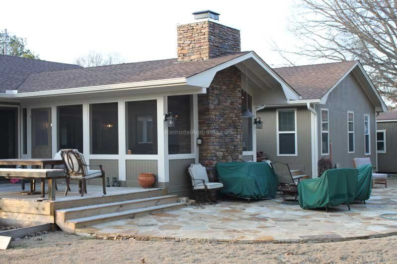 Screened In Porch For Entertaining Or Relaxing. Smaller Deck For Dining And  A Patio Play